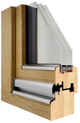 Holzfenster-Profil IV 92