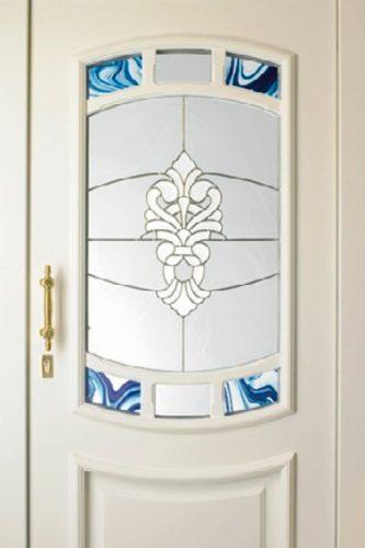 Haustür Ornamentgläser als Sichtschutz