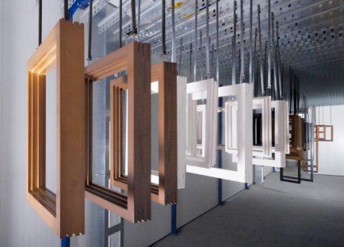 Individuelle Holzfenster in vielen Farben und Designs
