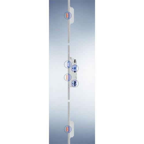 Dreifachverriegelung MR2 über komplette Falzhöhe